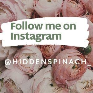 Let's Be Friends! Follow me on Instragram!
